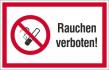 """Verbotsschild """"Rauchen verboten""""  - klein"""