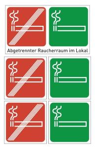 Rauchbereichskennzeichnung