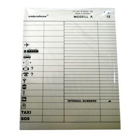ARLAC Ersatzregister für Underphone