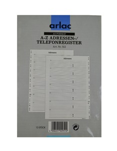 ARLAC Adress-/Telefonregister 512