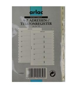 ARLAC Adress-/Telefonregister 712