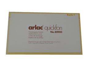 Arlac quickfon Ersatzkarten