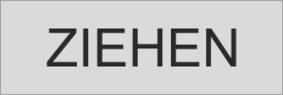 """Klebefolie 0215 """"ZIEHEN"""""""