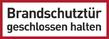 Brandschutzzeichenfolie 00519  - klein