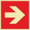 Brandschutzzeichenfolie 01503  - klein