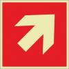 Brandschutzzeichenfolie 01504  - klein