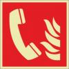 Brandschutzzeichenfolie 01507  - klein