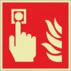Brandschutzzeichenfolie 01508  - klein