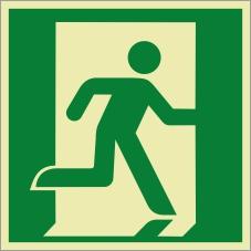Rettungszeichenfolie 0601