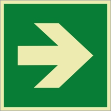 Rettungszeichenfolie 0603