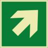 Rettungszeichenfolie 01604  - klein