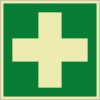 Rettungszeichenfolie 01605  - klein