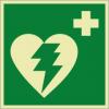 Rettungszeichenfolie 01608  - klein