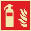 Brandschutzzeichenfolie 02501  - klein
