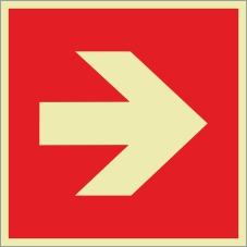 Brandschutzzeichenfolie 02503