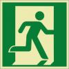 Rettungszeichenfolie 02601  - klein