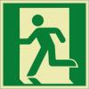 Rettungszeichenfolie 02602  - klein
