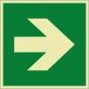 Rettungszeichenfolie 02603  - klein