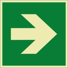 Rettungszeichenfolie 02603
