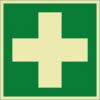Rettungszeichenfolie 02605  - klein