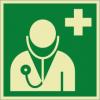 Rettungszeichenfolie 02612  - klein