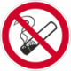 Verbotszeichen als Folie oder als Schild