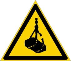 Warnzeichenschild 0101