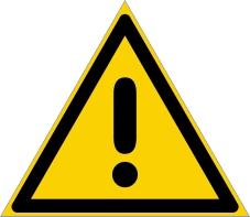 Warnzeichenschild 0102