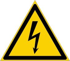 Warnzeichenschild 0106