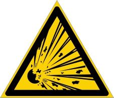 Warnzeichenschild 0109