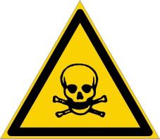 Warnzeichenschild 0111