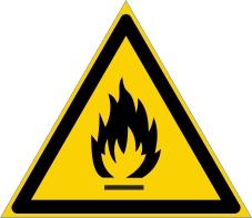 Warnzeichenschild 0112