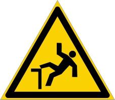 Warnzeichenschild 0114