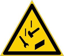 Warnzeichenschild 0115