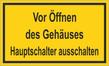 Warnzeichenschild 50150  - klein