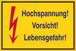 Warnzeichenschild 50161  - klein