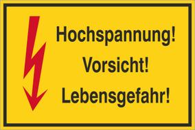 Warnzeichenschild 50161