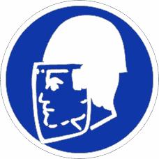 Gebotszeichenschild 0411