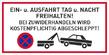 Verbotszeichenschild 50756  - klein