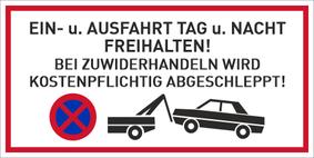 Verbotszeichenschild 50756