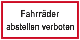 Verbotszeichenschild 50757