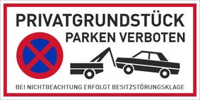 Verbotszeichenschild 50761