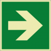 Rettungszeichenschild 0603  - klein