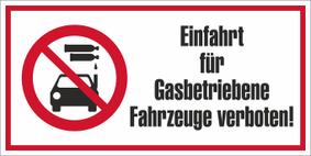 Verbotszeichenschild 60753