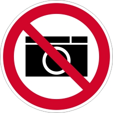 Verbotszeichenschild 0706