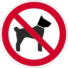 Verbotszeichenschild 0713