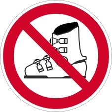 Verbotszeichenschild 0714