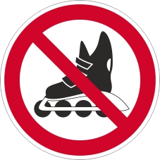 Verbotszeichenschild 0716