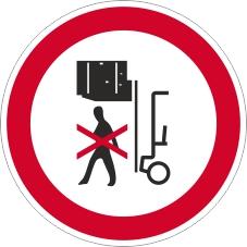 Verbotszeichenschild 0718