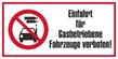 Verbotszeichenschild 70753  - klein